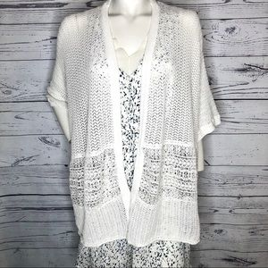3/$40❤️ California Moonrise crochet Cardi sz XL